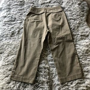 Royal Robbins faux side buttons hiking capris 4